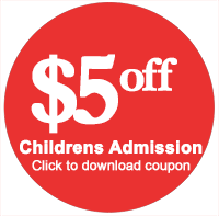 $5 off childrens admission