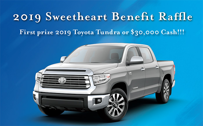 Sweetheart Benefit Raffle