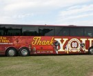 Redskins 80th Anniversary Bus